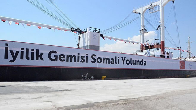 Somalia: Turkey sent 11,000 tons of aid