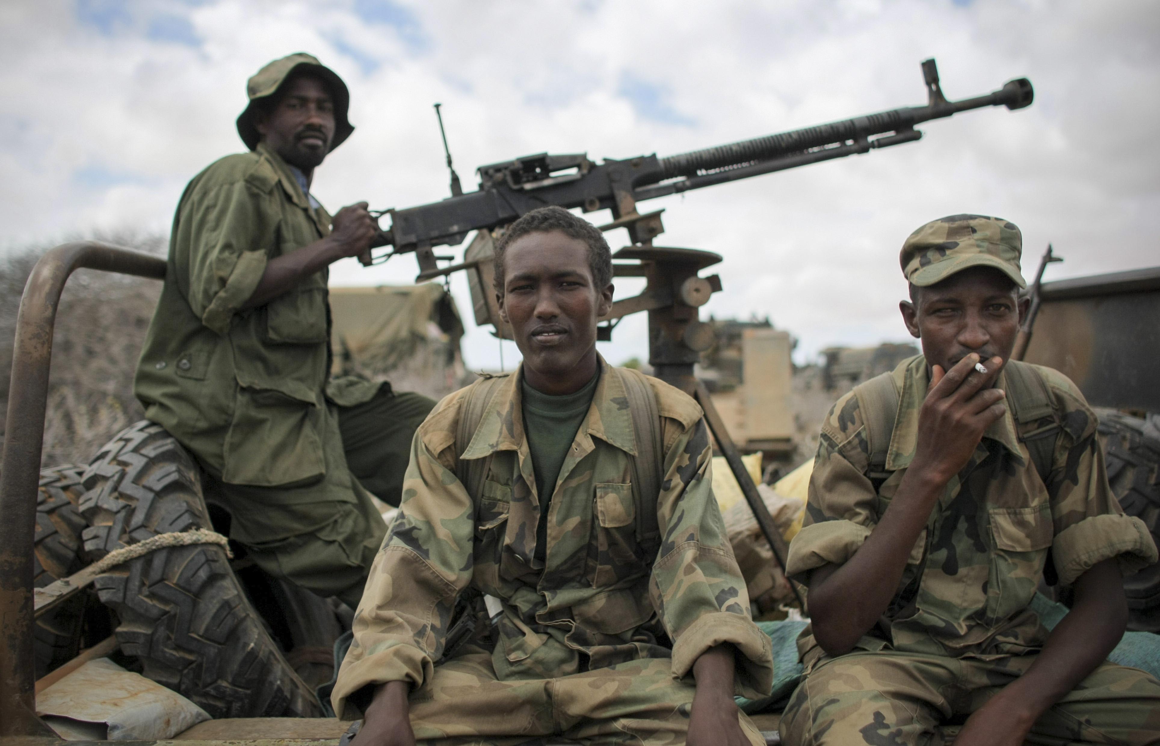 Somalia troops