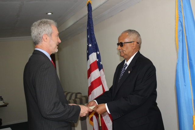 us amb1 U.S. ambassador to Somalia In Mogadishu, For First Time in 25 Years
