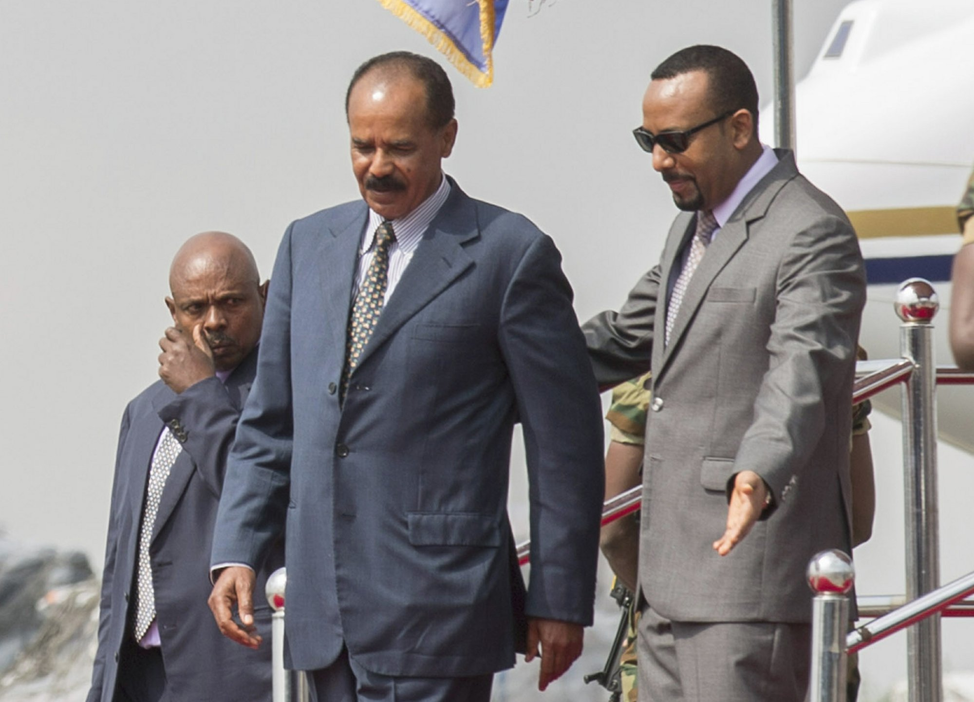 the men of the year 2018 2018 PEACEMAKERS & STATESMENS: Eritrea President Isaias Afwerki