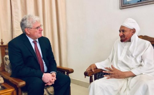 Non Muslim Perspective On The Revolution Of Imam Hussain: Sudan: U.S. Envoy Meets Opposition Leader After Attack