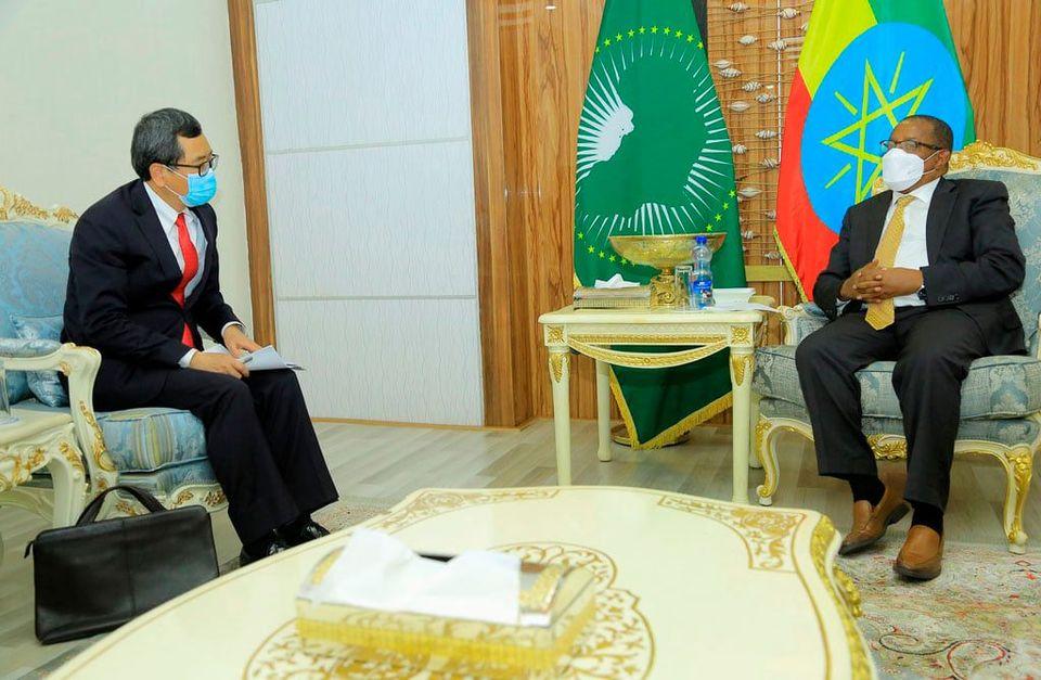119529729 3985909051436308 3444572112166289057 n Ethiopia: bid farewell to outgoing Chinese Ambassador
