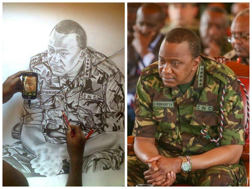 Kenyatta Artist Portrait