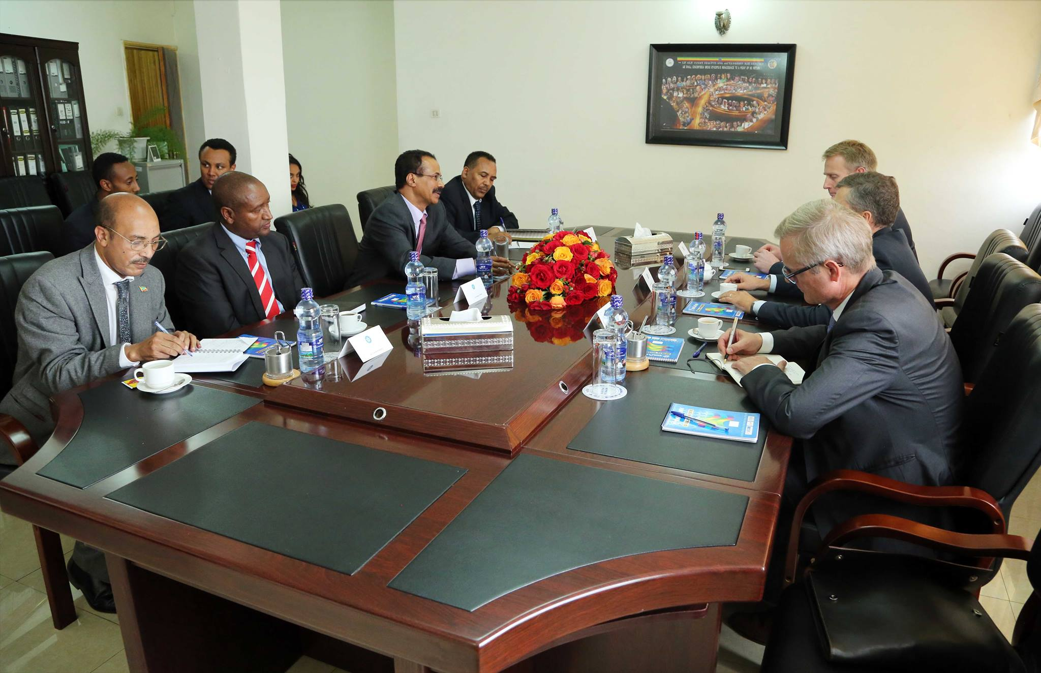 Minister Ambassador Berhane