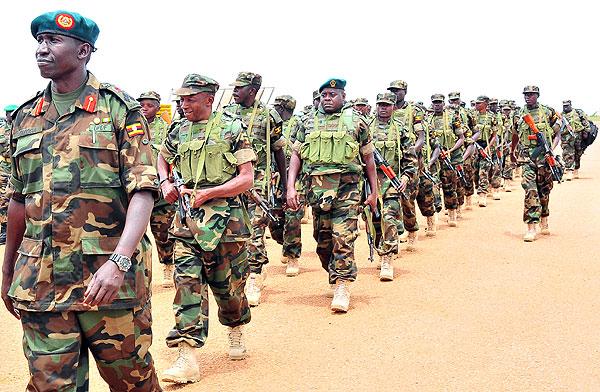 uganda Troops South Sudan