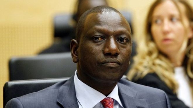 william ruto ICC