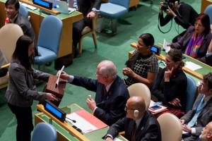 UN human rights council vote
