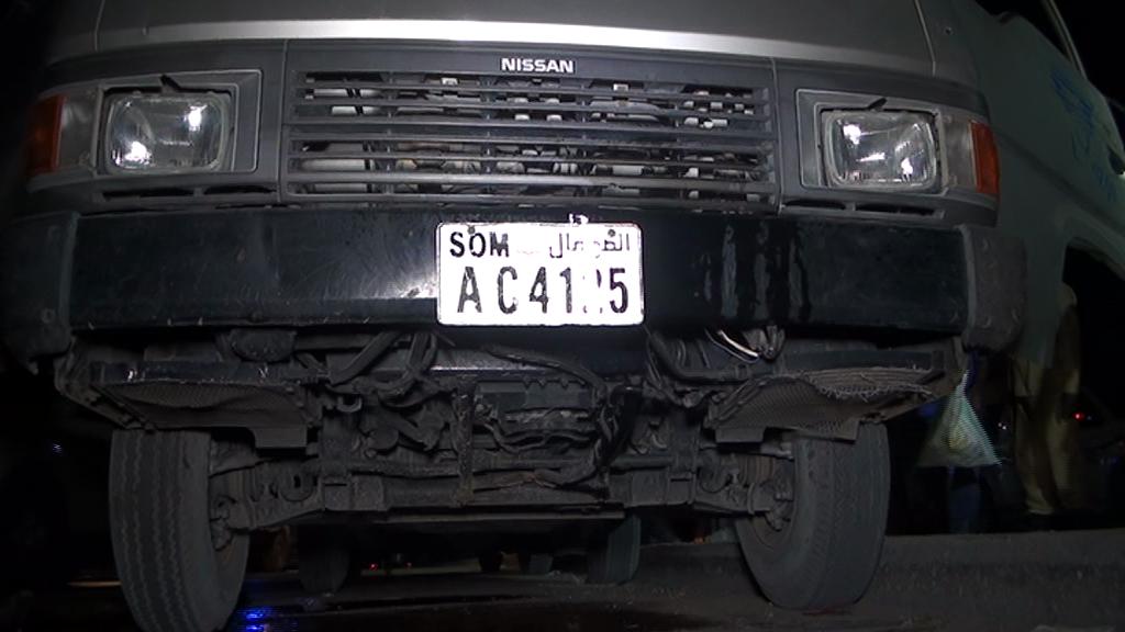 motor Van 11 Somalia: Somali National Police captured al-shabaab's tactical Operational Vehicles