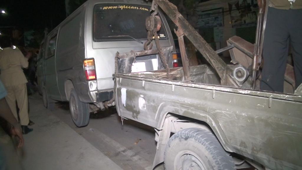 motor van 3 Somalia: Somali National Police captured al-shabaab's tactical Operational Vehicles