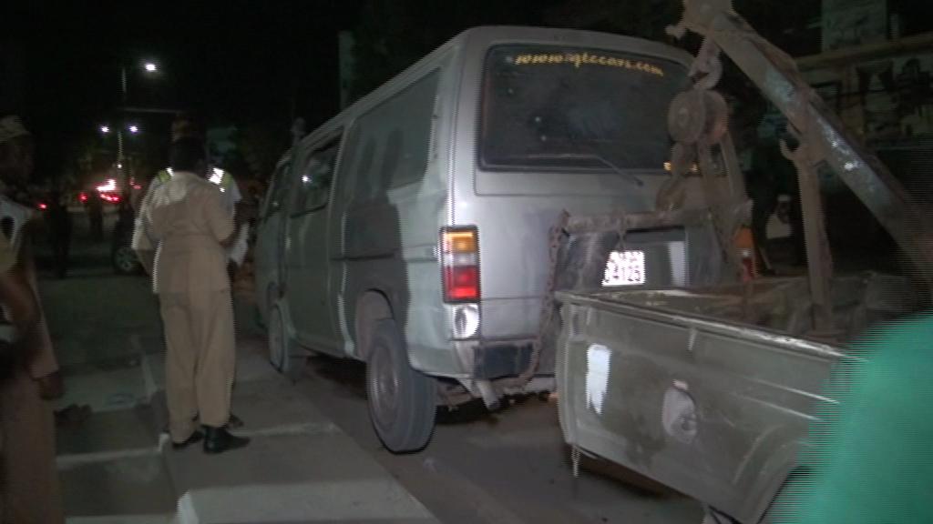 motor van 4 Somalia: Somali National Police captured al-shabaab's tactical Operational Vehicles