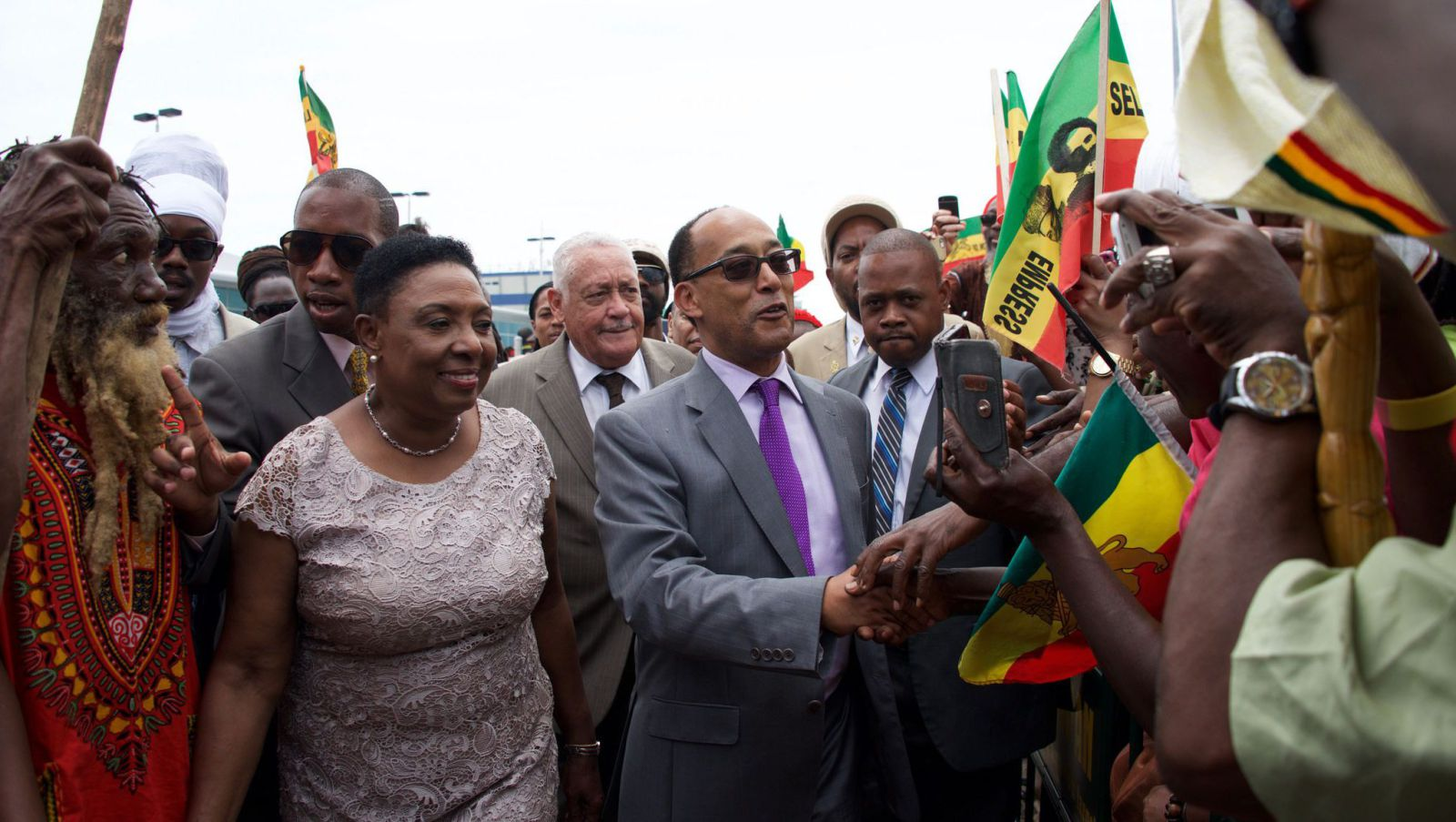 An Ethiopian prince's visit to Jamaica relives the birth of Rastafarianism