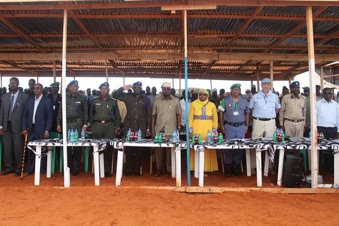 police 2 Somalia: 198 Somali Police Officers Graduate in Kismayo