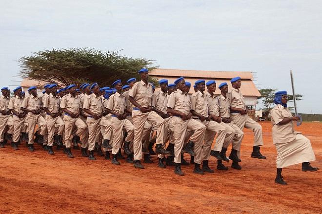 police Somalia: 198 Somali Police Officers Graduate in Kismayo