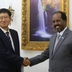 sk1 President receives credentials from ambassadors of South Korea and Switzerland