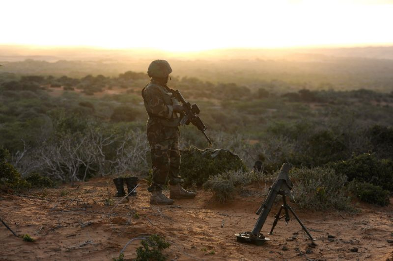 Somalia Islamist Militants Target African Union Base in Capital