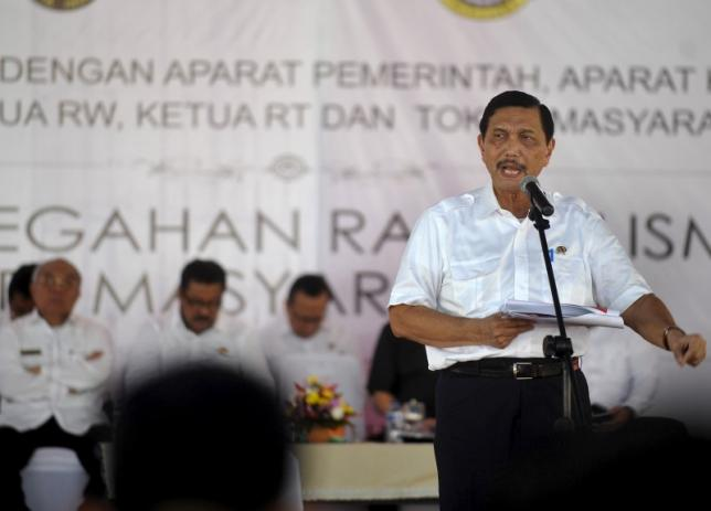 Indonesia's chief security
