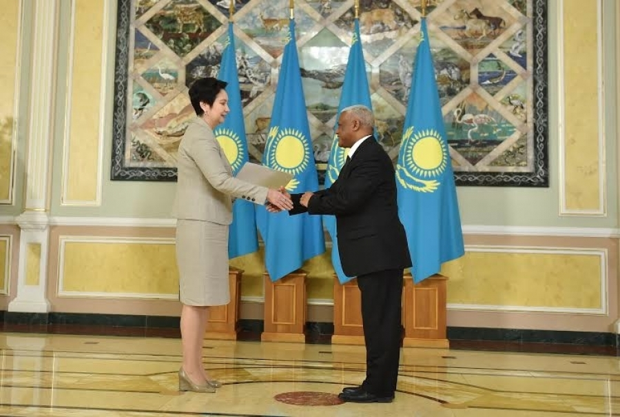 Kazakh Secretary of State Receives Credentials of Ambassador Ayalew Gobeze