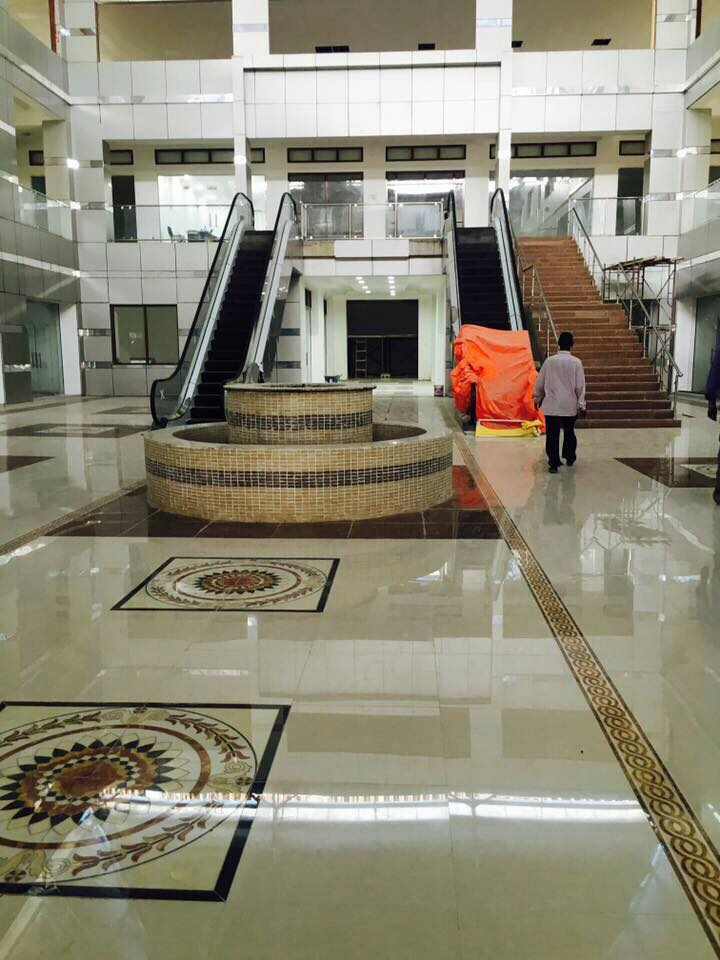 1 Mogadishu mall Finished 3 levels SOMALIA