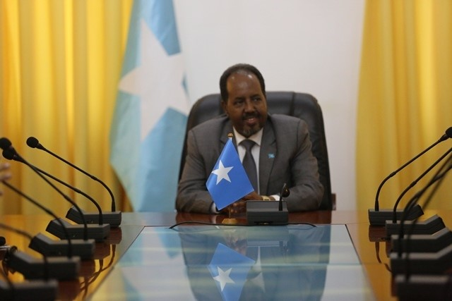 somalia press 2 Somalia: President received delegation of Security Officials from US.
