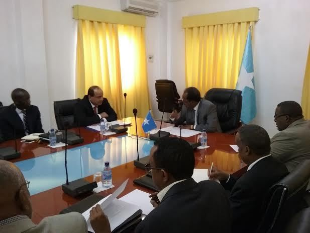 somalia press 8 Somalia: President received delegation of Security Officials from US.
