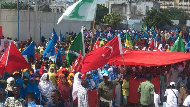 somalia turkey 1 Somalia: People in Somalia supported Erdogan call