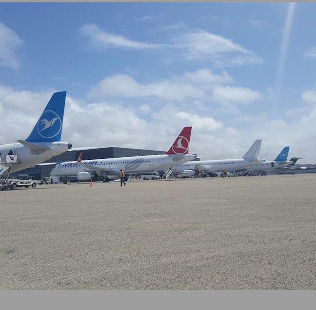 diyarado1 Somalia: Mogaduishu Airport is Very Busy