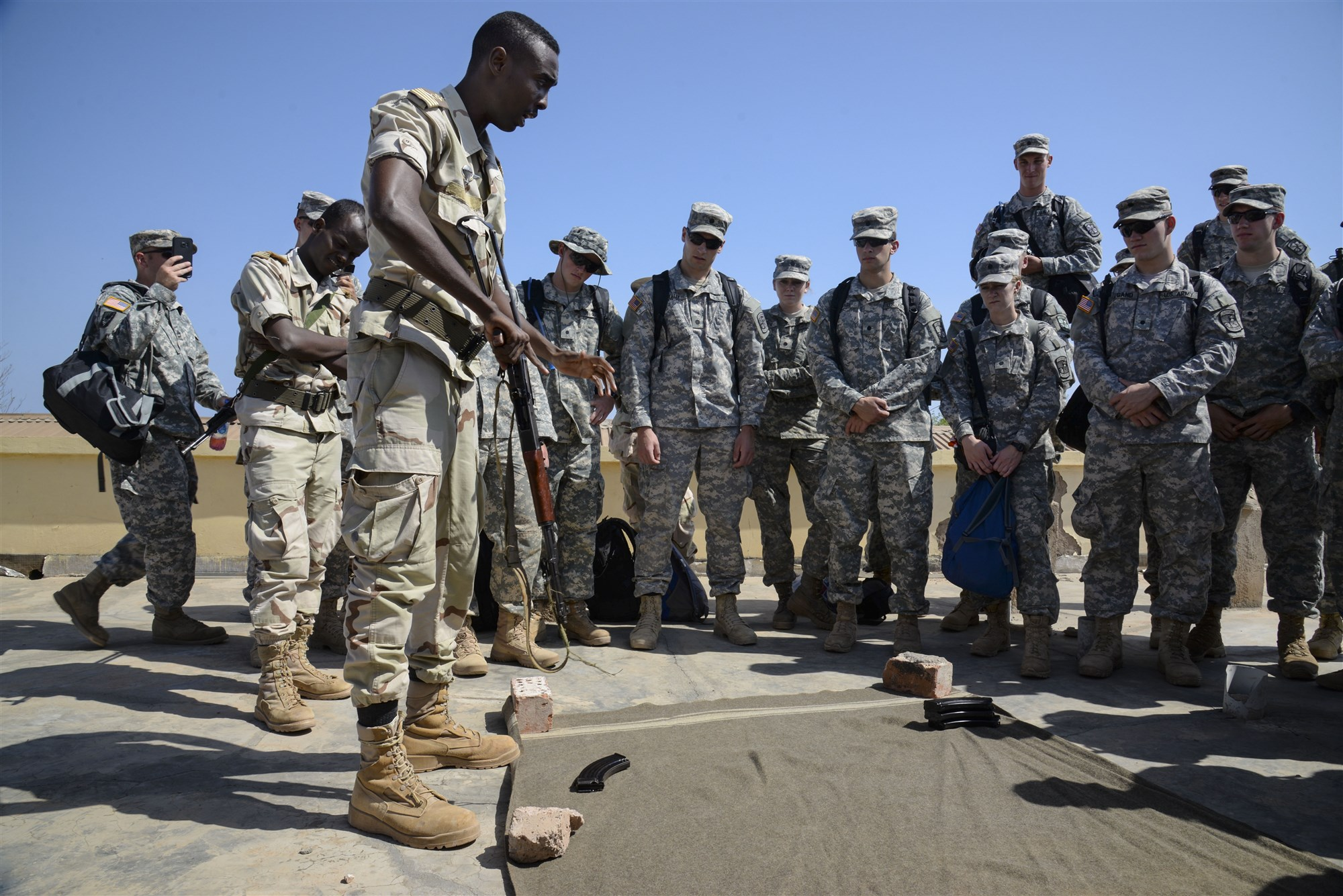 Army Cadets Experience Djiboutian Military Culture & Intense