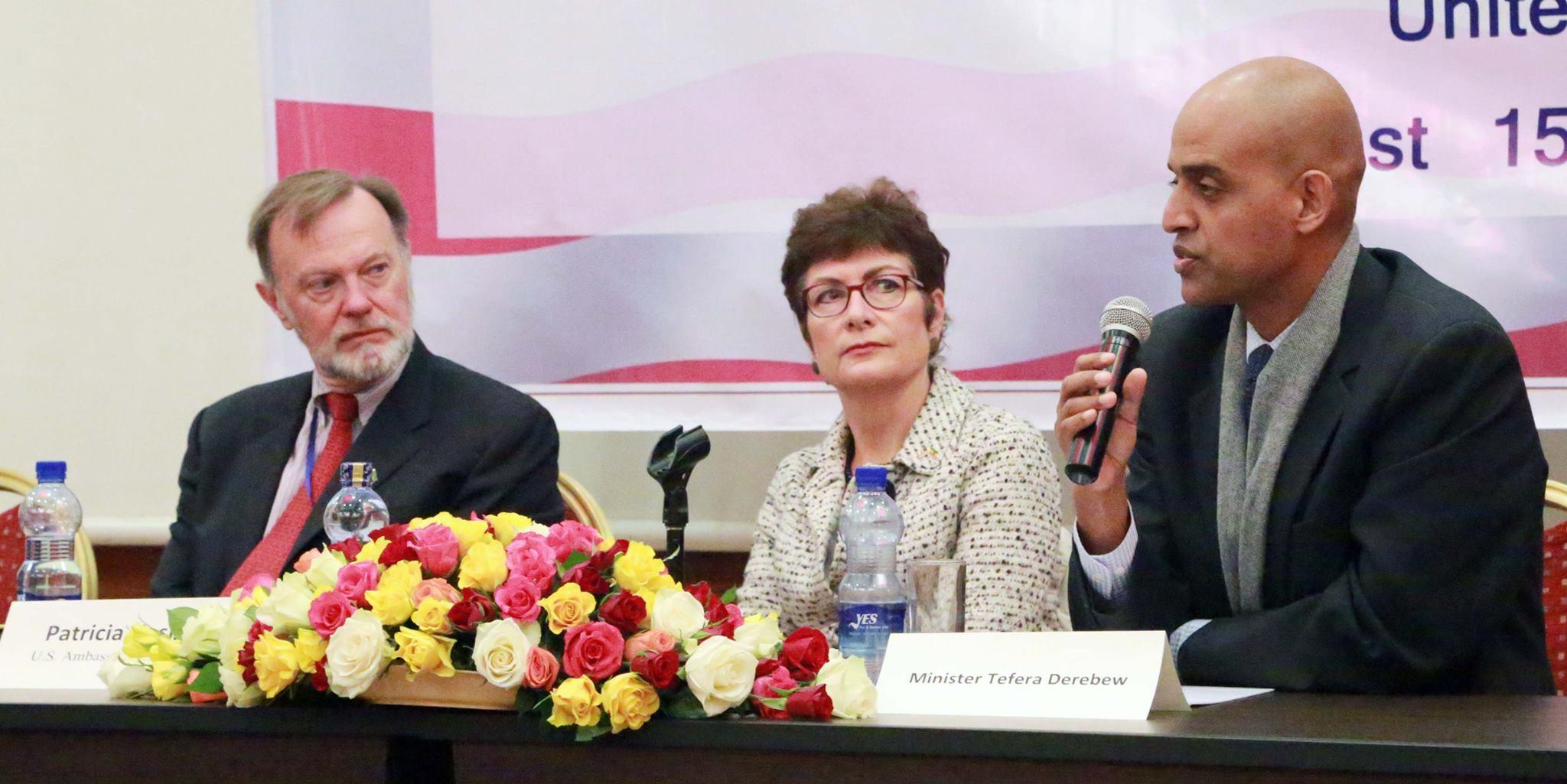 ethiopia USA Partnership Ethiopia, US Keen to Foster Multisector Partnerships