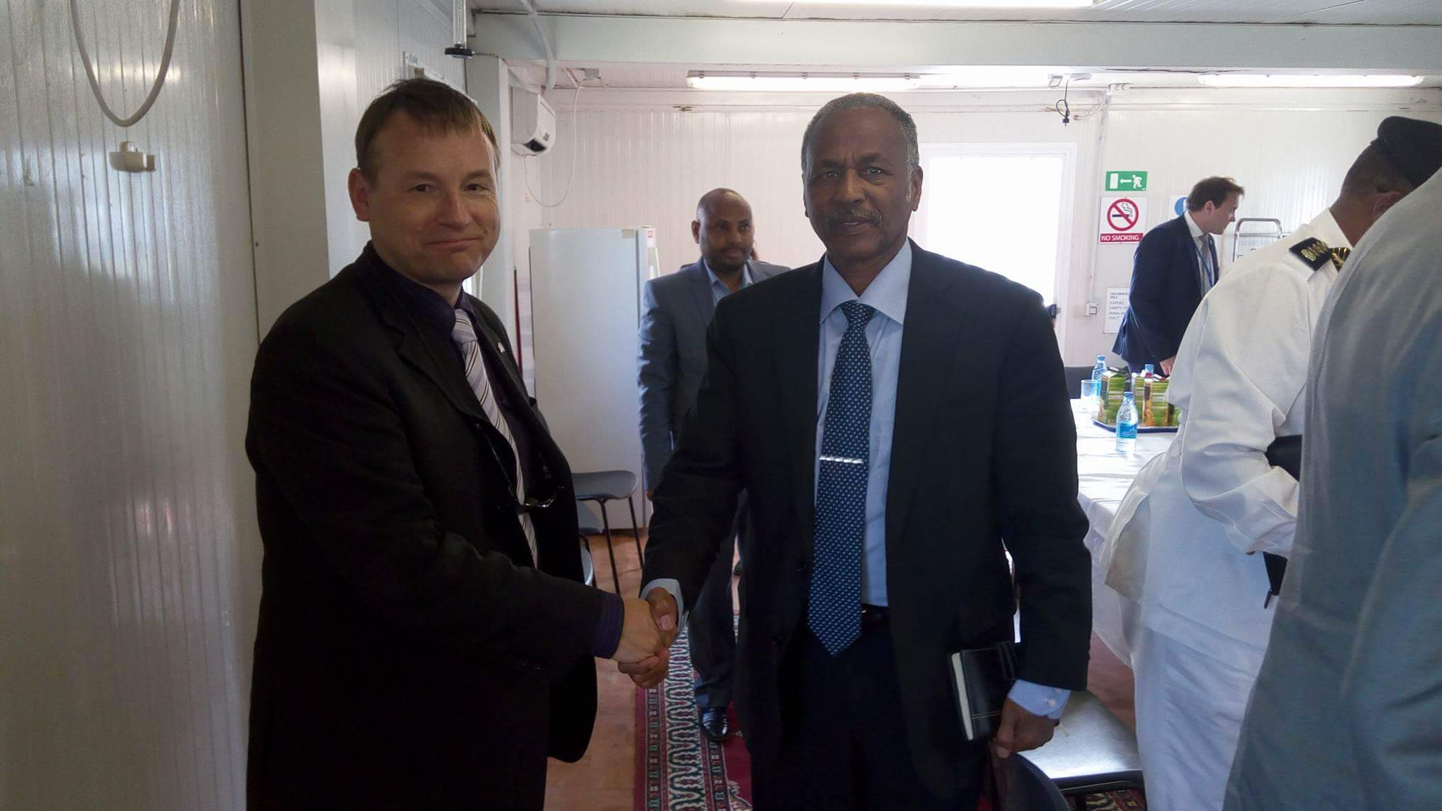 received 739596616181564 Somalia: Germany will help security sector reform