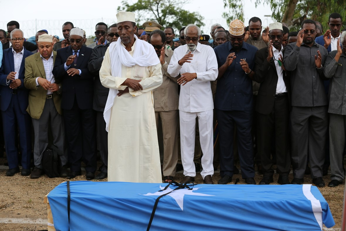 som gen 78 President attended a state funeral for former Vice President