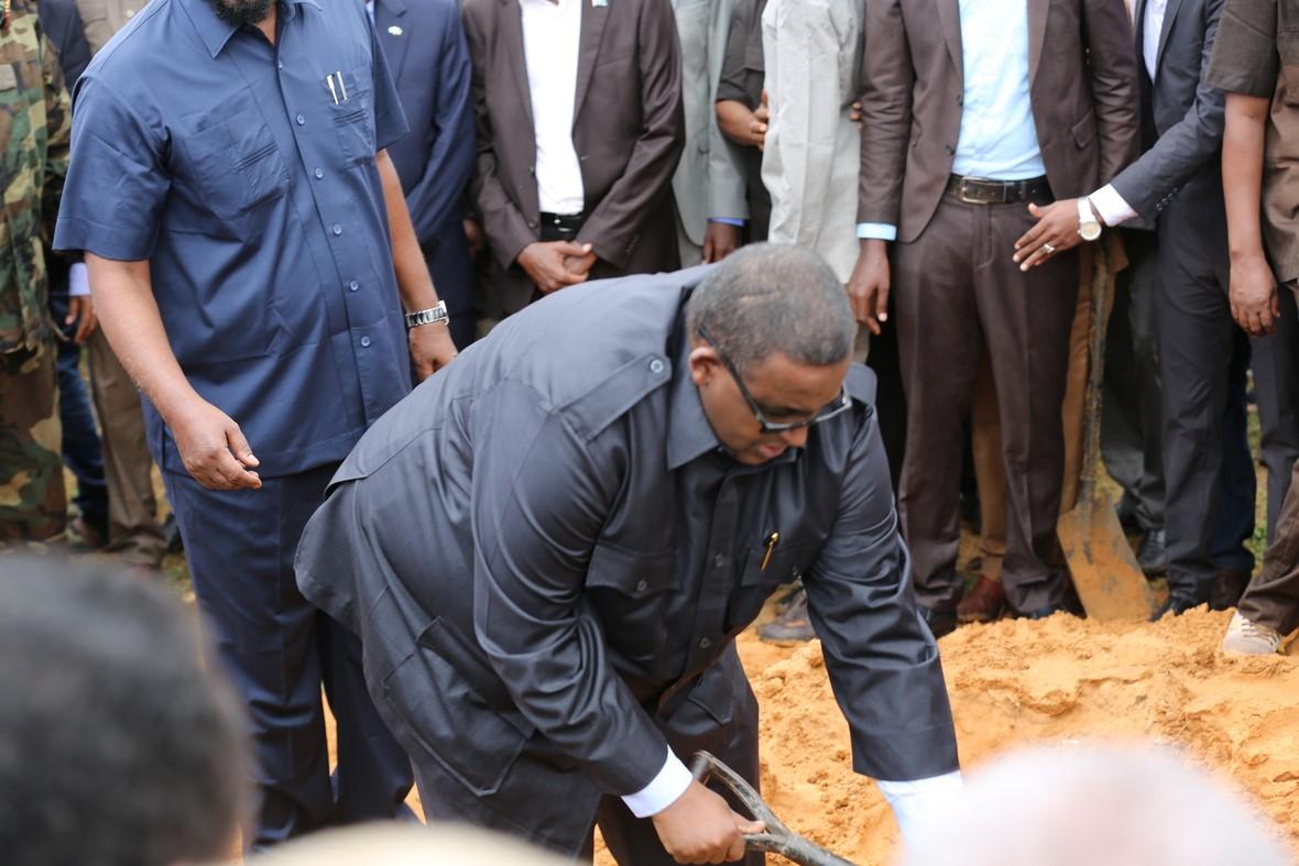 som gen 8 President attended a state funeral for former Vice President