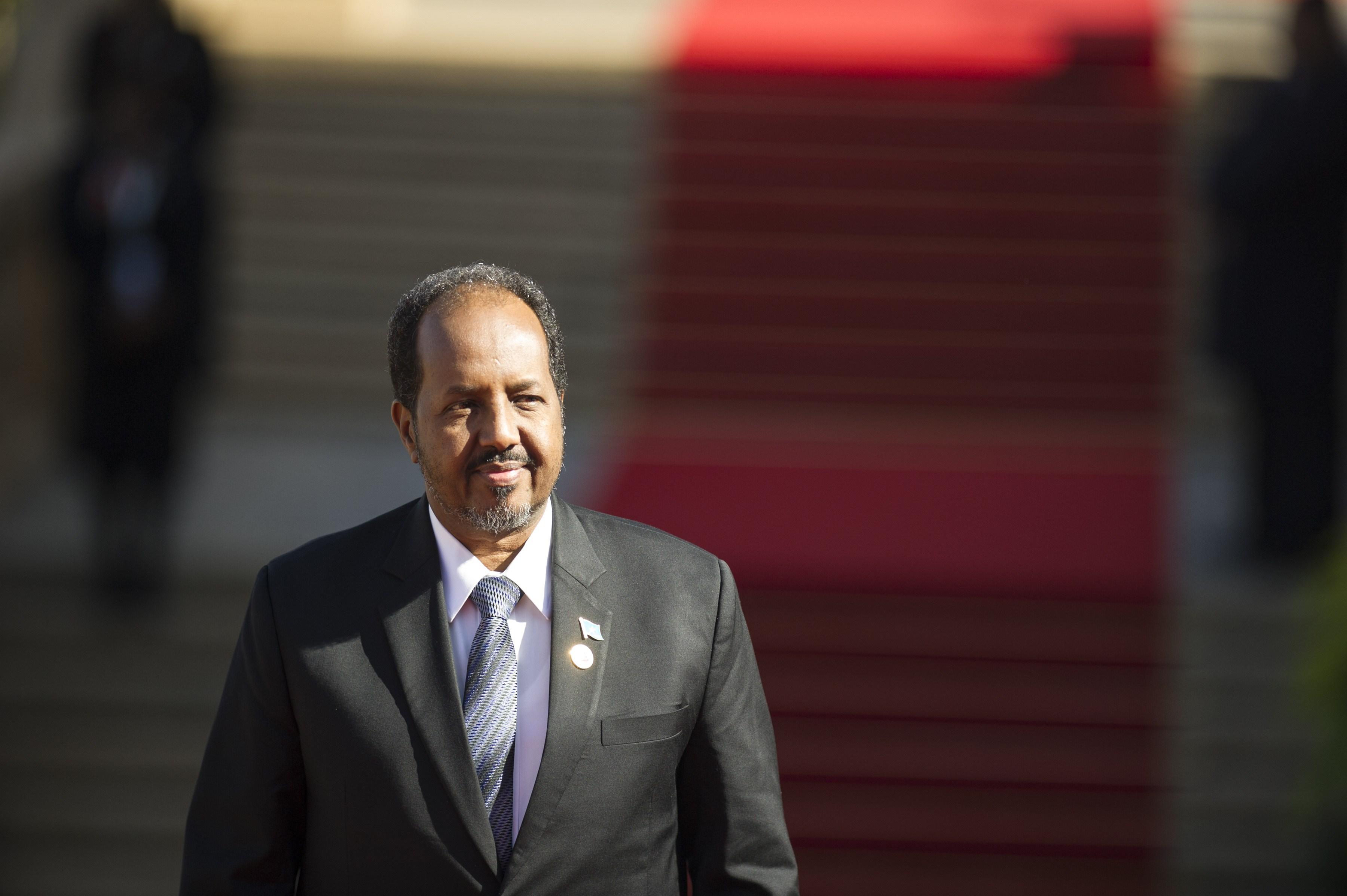 t Hassan Sheikh Mohamoud Somalia