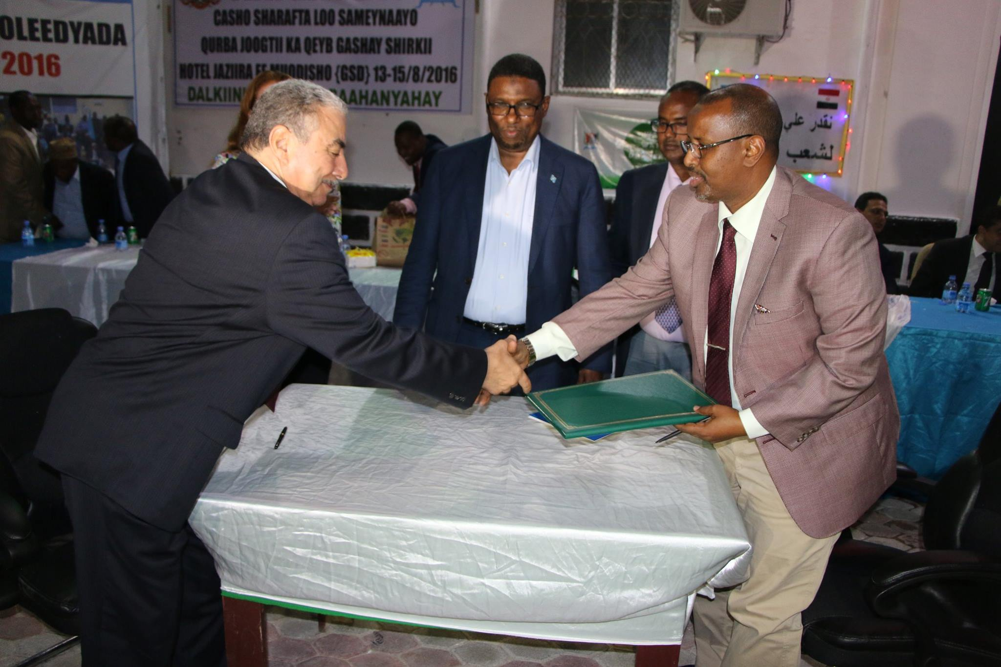 somalia chamber of commerce2 Egyption Chamber of Commerce sign MOU with Somali Chamber of Commerce