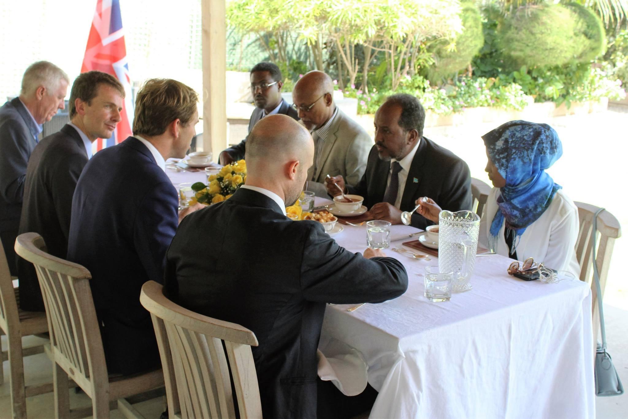uk somalia 3 Somalia: UK PM sent a special message to the President