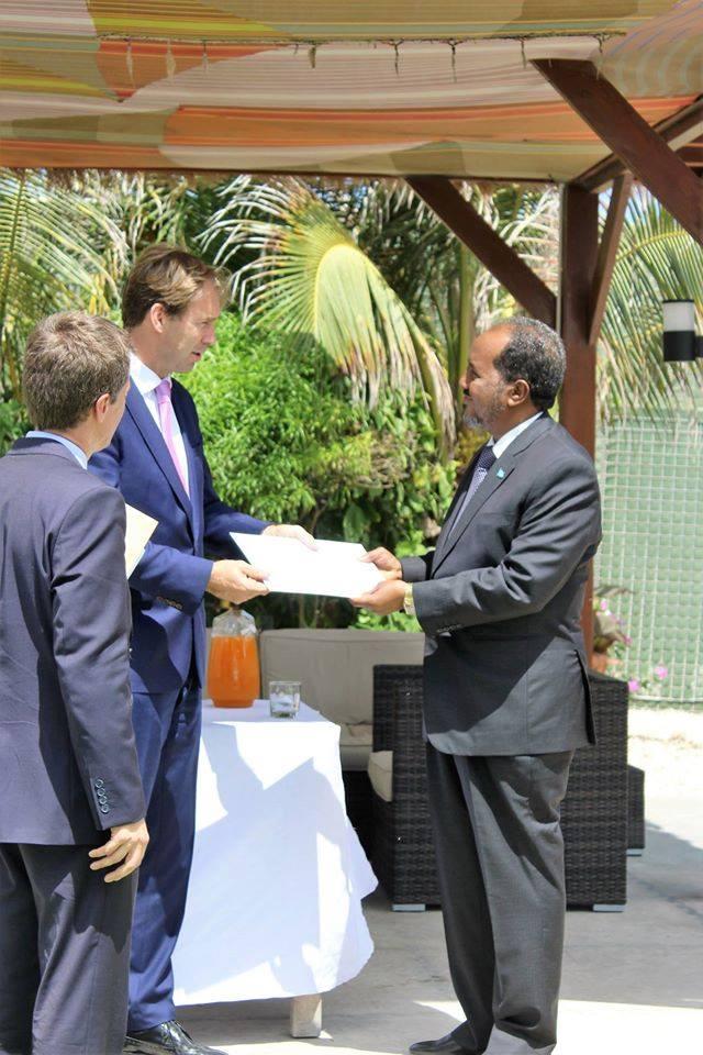 uk somalia Somalia: UK PM sent a special message to the President