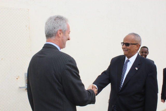 us amb2 U.S. ambassador to Somalia In Mogadishu, For First Time in 25 Years