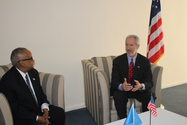 us amb6 U.S. ambassador to Somalia In Mogadishu, For First Time in 25 Years