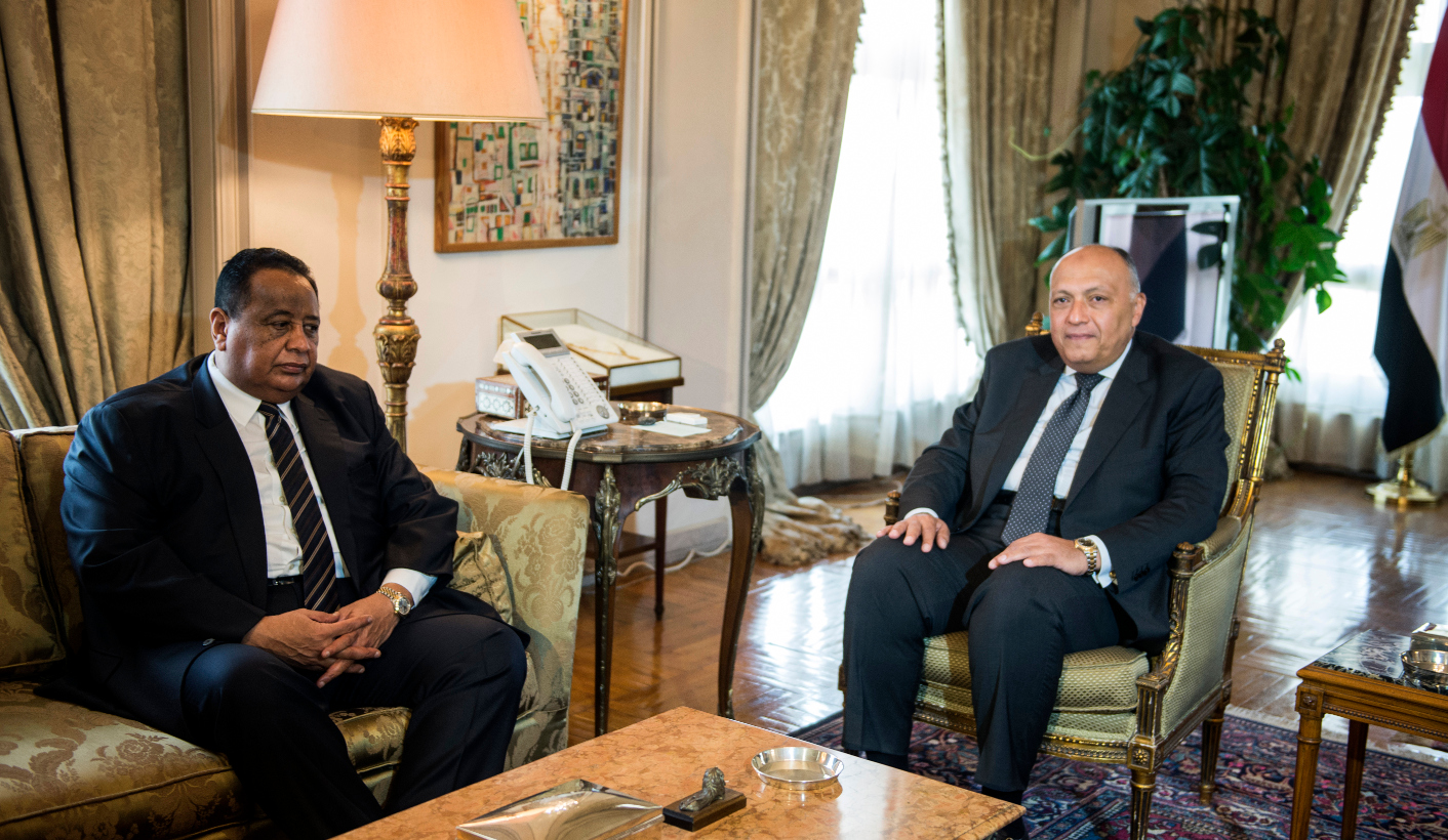 Egyptian FM visit Sudan for ongoing bilateral tensions