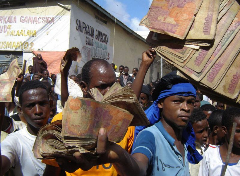 somali shilling Homepage - Loop