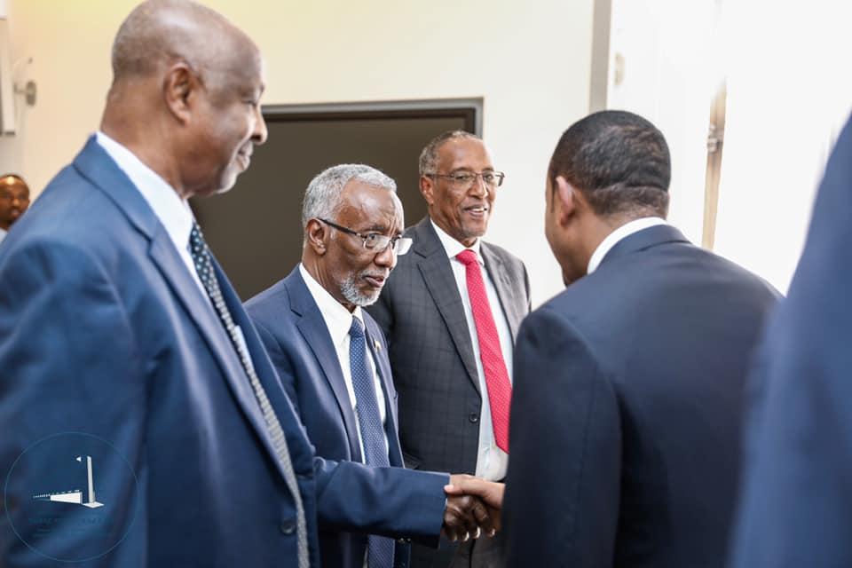 52146487 545390135952174 8988224956810657792 n Somaliland: PM Abiy Ahmed Meets President Muse Bihi In Addis