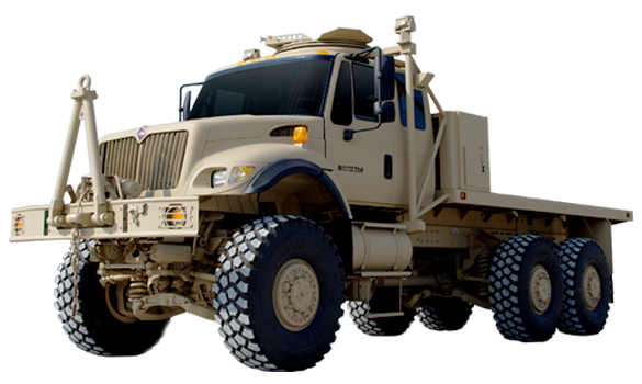 Navistar Defense Vehicle 7000 MV DXM.. Navistar to supply trucks to Somalia