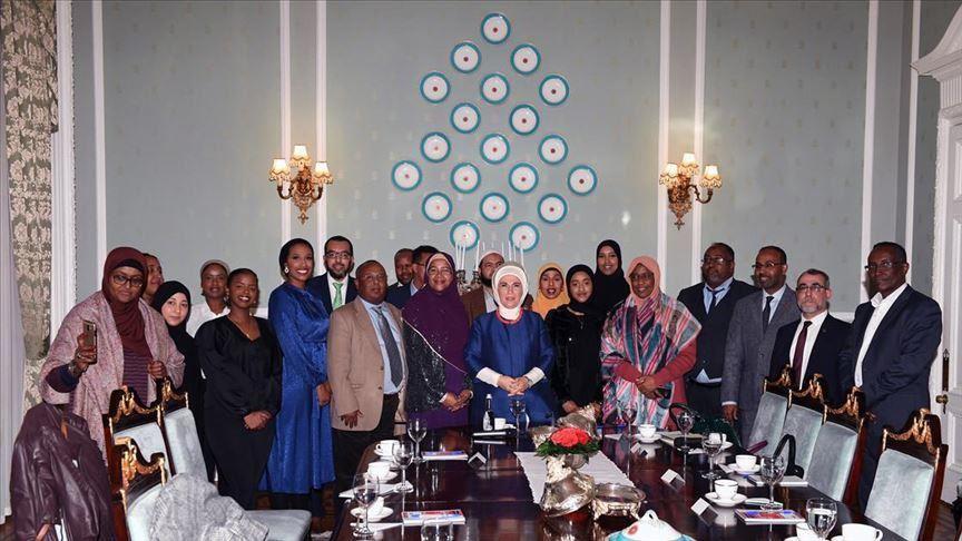 Emine Erdoğan Somali london Geeska Afrika