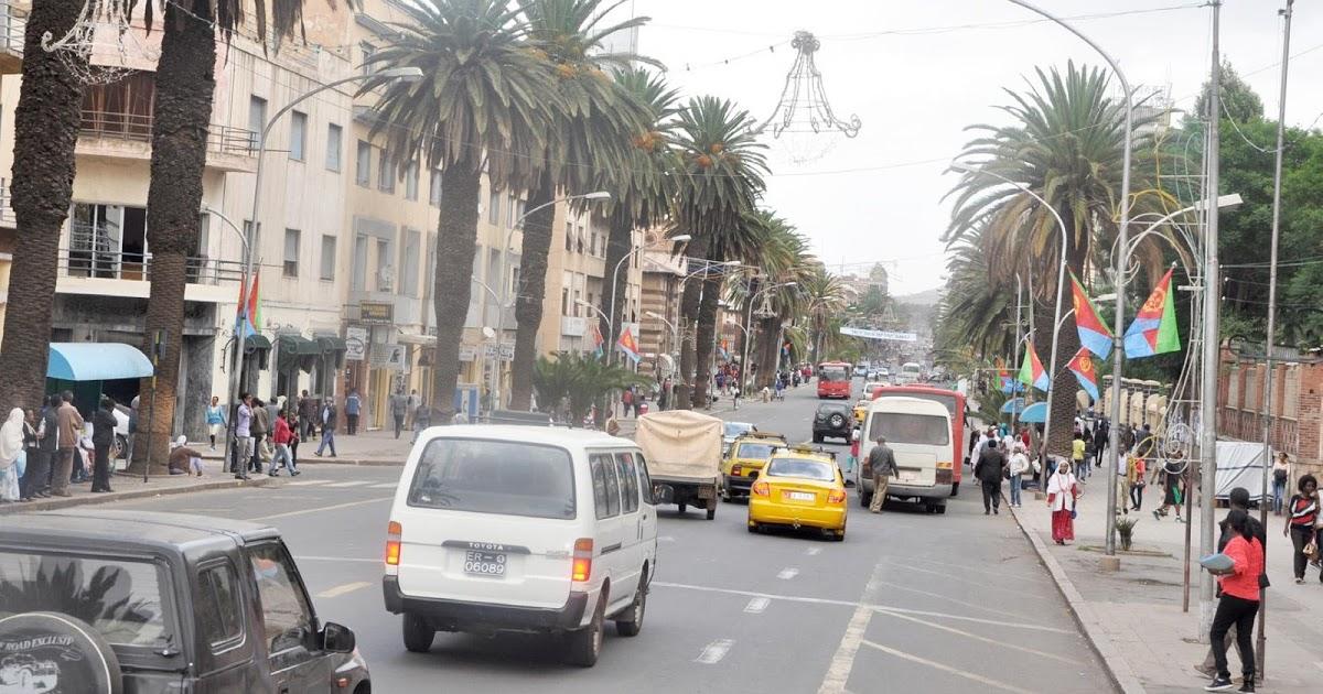 Asmara Eritrea downtown Eritrea: A Suburb in Parts of Asmara