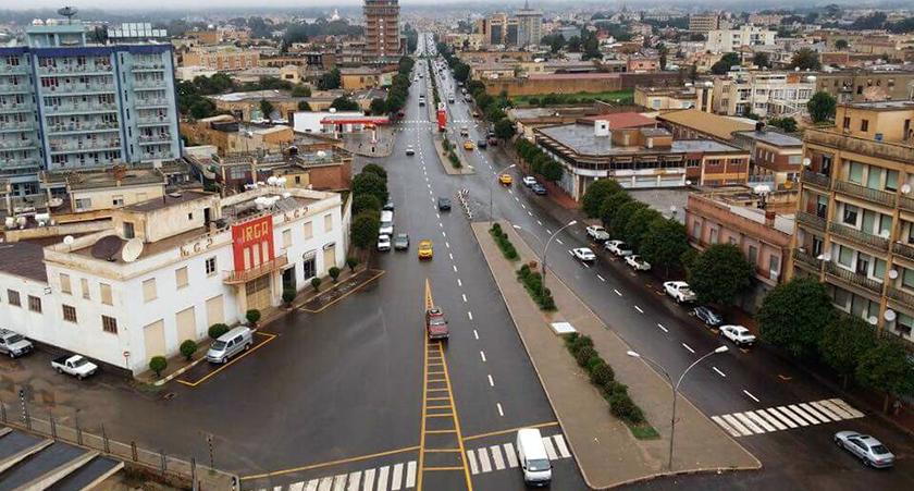 Asmara downtown Eritrea: A Suburb in Parts of Asmara