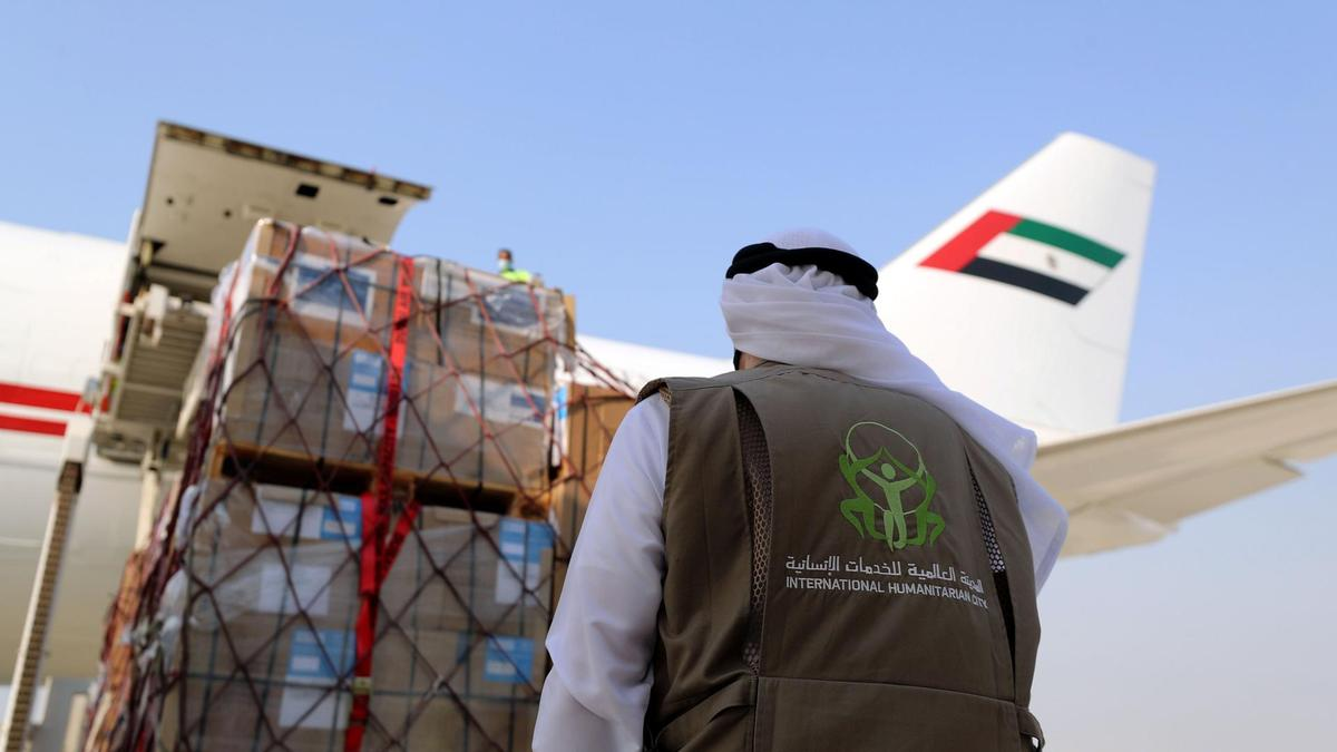 Arab countries send humanitarian support sudan