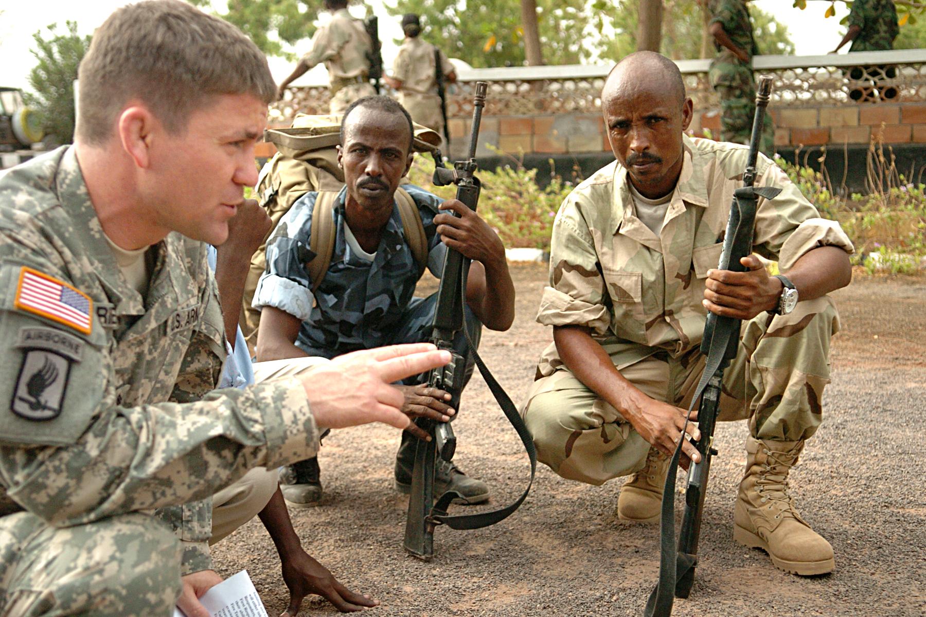 Djibouti U.SArmyAfricaSoldiers New Home