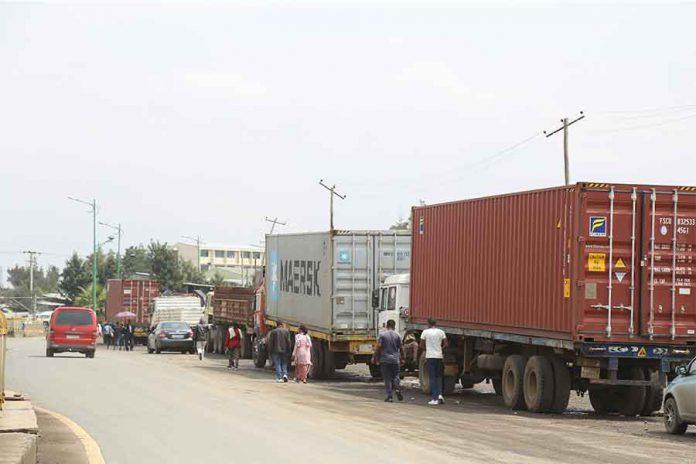 Ethiopia truck drivers