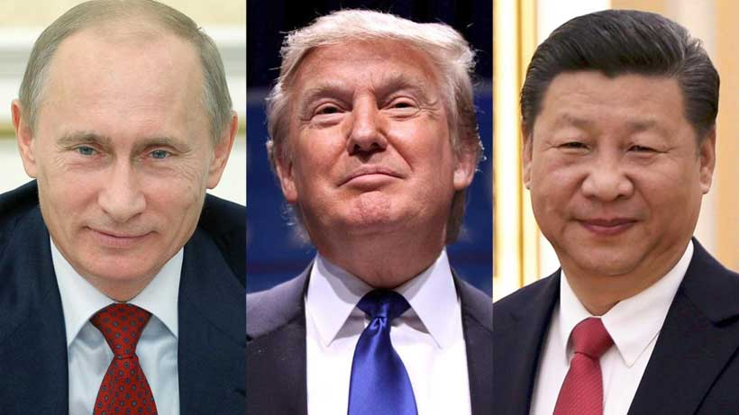 Trump vs. Putin & Xi