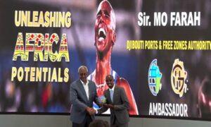 Mo Farah Named Djibouti Ports Ambassador