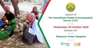 Somaliland Launches its first Health and Demographic Survey